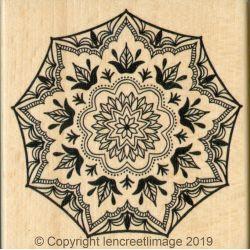 Tampon bois L'Encre & l'Image - Bohème