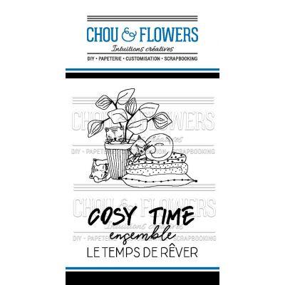 Tampons transparents Chou & Flowers - Mon Petit Côté - Cosy Time