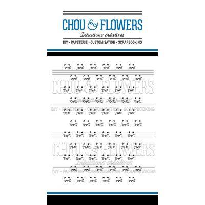Tampons transparents Chou & Flowers - Mon Petit Côté - Miaou Fond