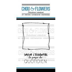 Tampons transparents Chou & Flowers - Mon Petit Côté - L'essentiel