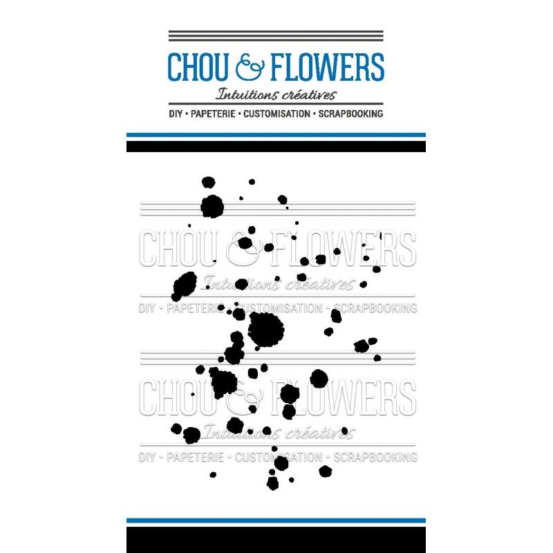 Tampons transparents Chou & Flowers - Mon Petit Côté - Artiste Fond