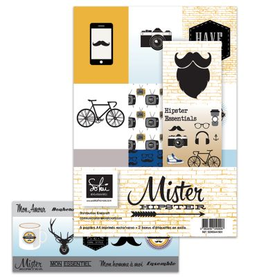 Pack A4 - Sokai - Mister Hipster