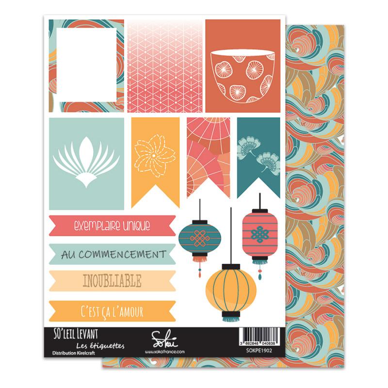 Planches d'étiquettes Sokai - SO'Leil Levant - 2