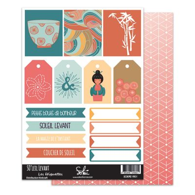 Planches d'étiquettes Sokaï - SO'Leil Levant - 1