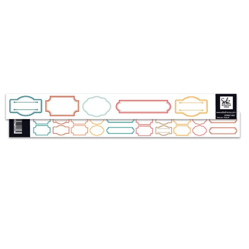 Bande d'étiquettes Sokai - SO'Leil Levant