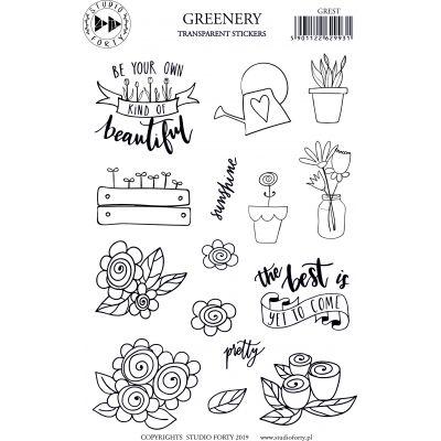 Stickers Studio Forty - Greenery