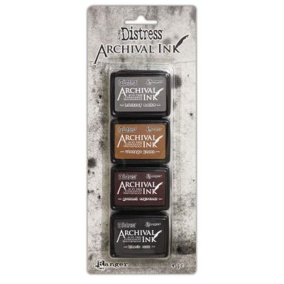 Mini Encreurs Archival Ink - Tim Holtz Distress 3