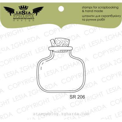 Tampons transparent Lesia Zgharda - Glass Jar