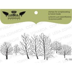 Tampons transparent Lesia Zgharda - Winter Tree