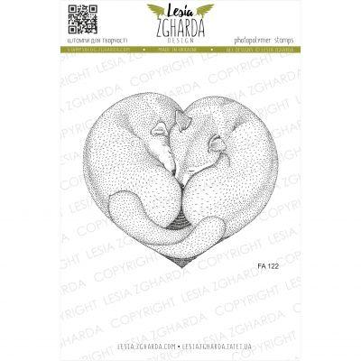 Tampons transparent Lesia Zgharda - Faithfull Heart