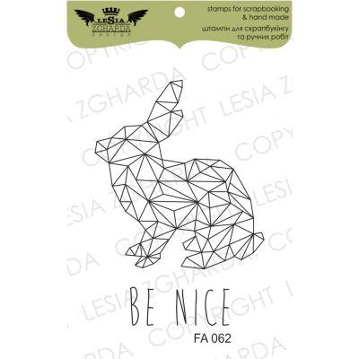 Tampons transparent Lesia Zgharda - Bunny