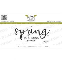 Tampon transparent Lesia Zgharda - Spring is Coming