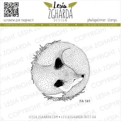 Tampons transparent Lesia Zgharda - Sleeping Fox