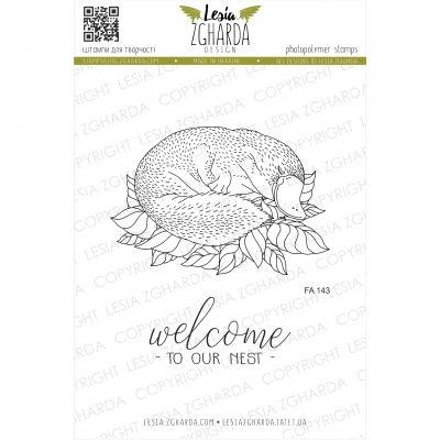 Tampons transparent Lesia Zgharda - Sleeping Platypus