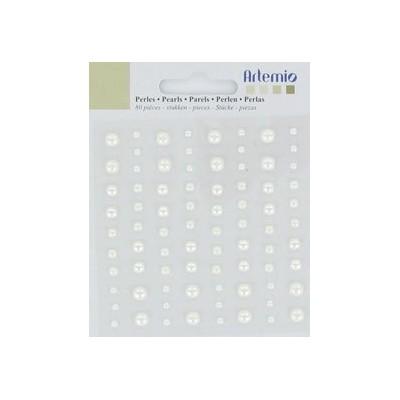 Demi-perles Artemio - Ivoire