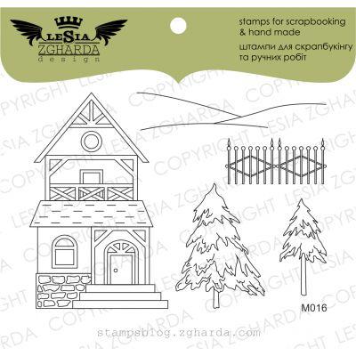 Tampons transparent Lesia Zgharda - Carpathian House