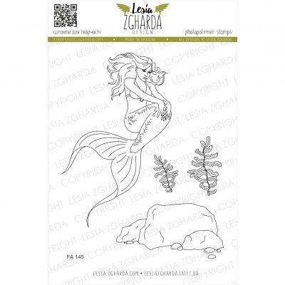 Tampons transparent Lesia Zgharda - Mermaid