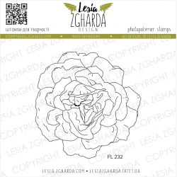 Tampons transparent Lesia Zgharda - Lovely Rose