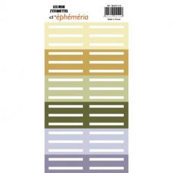 Les Mini Z'étiquettes d'Ephemeria - Naturelle