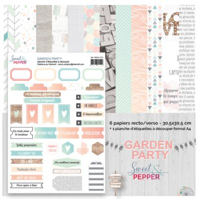 Pack 30x30 - Sweet & Pepper - Garden Party