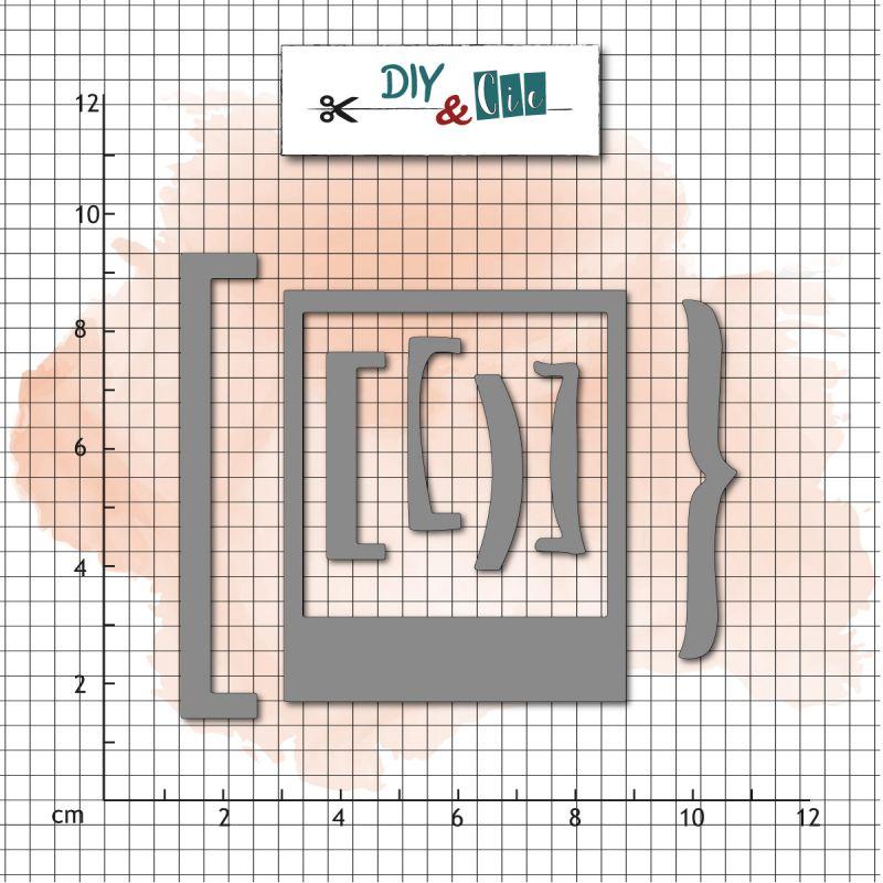 Dies DIY&Cie - Col.16 - Crochets
