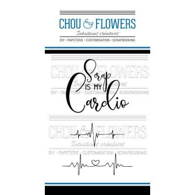 Tampons transparents Chou & Flowers - Mon Petit Côté - Cardio