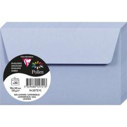 Enveloppes Pollen 90x140 - Bleu Lavande