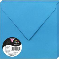 Enveloppes Pollen 165x165 - Bleu Turquoise