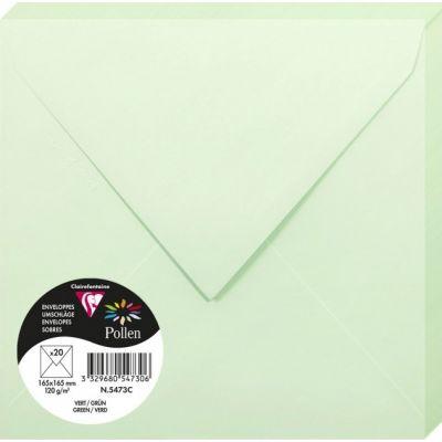 Enveloppes Pollen 165x165 - Vert