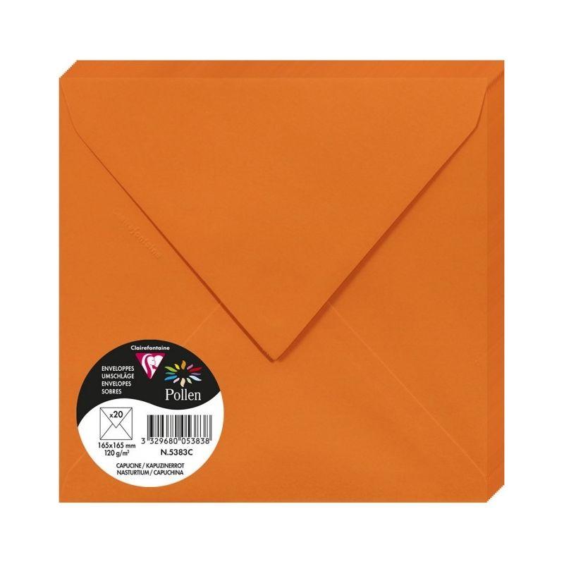 Enveloppes Pollen 165x165 - Capucine
