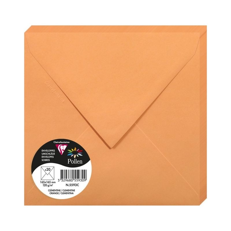 Enveloppes Pollen 165x165 - Clémentine