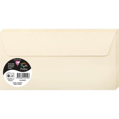 Enveloppes Pollen 110x220 - Ivoire