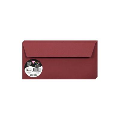 Enveloppes Pollen 110x220 - Bordeaux