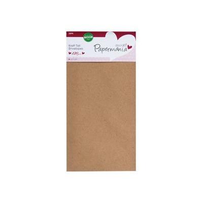 Enveloppes Papermania 105x210 - Kraft