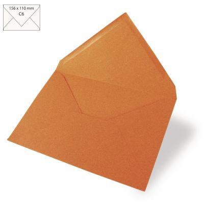 Enveloppes Rayher 110x157 - Mandarine