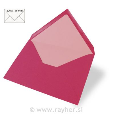 Enveloppes Rayher 110x157 - Rose