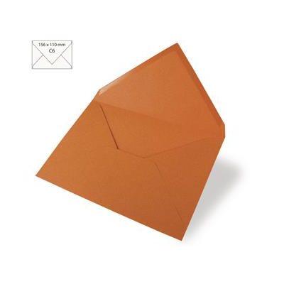 Enveloppes Rayher 110x157 - Orange foncé