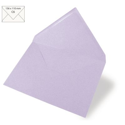 Enveloppes Rayher 110x157 - Lavande