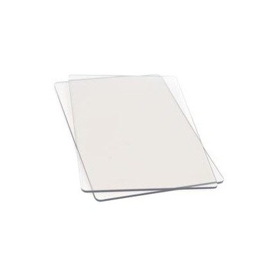 Plaques transparentes Sizzix (x2)