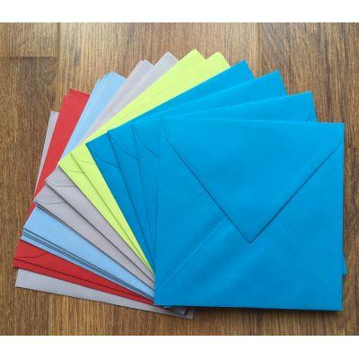 20 Enveloppes 160x160 - Mix de couleurs