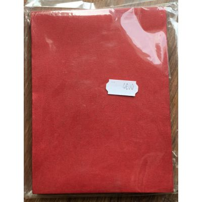 Enveloppes Bazzill 108x140 - Rouge