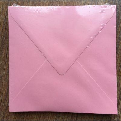 Enveloppes Card Deco 140x140 - Rose