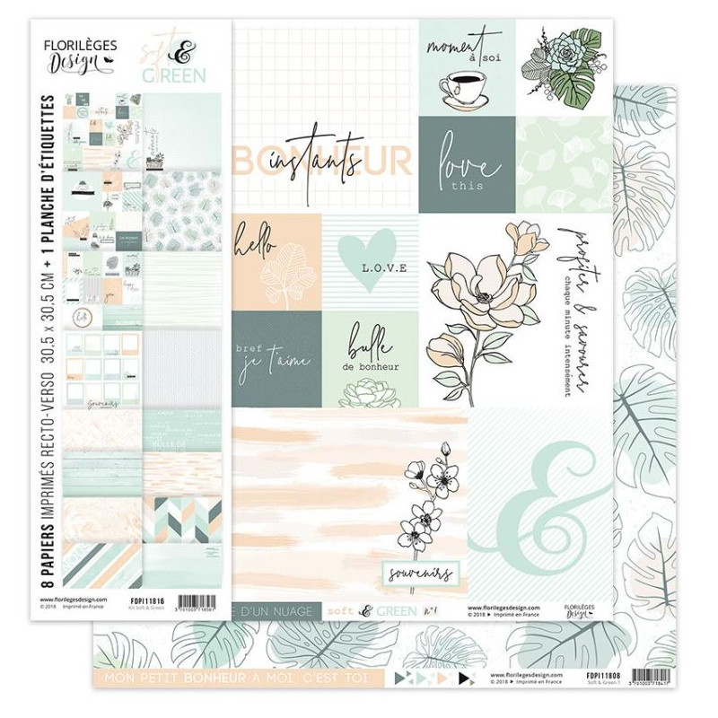 Kit collection SOFT & GREEN