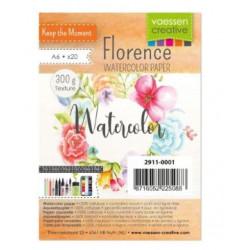 Florence - Papier aquarelle texture 300g