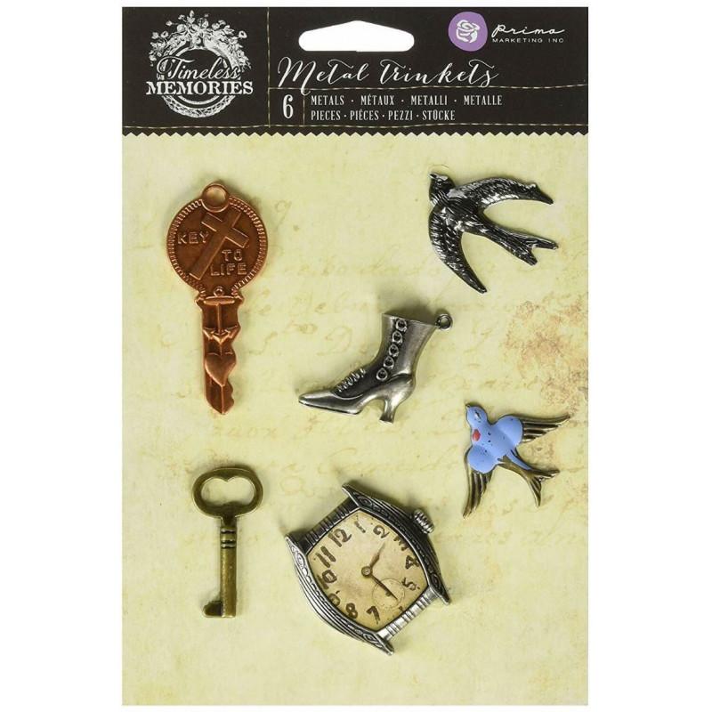 Metal trinkets remembrance - Embellissement métal - Prima