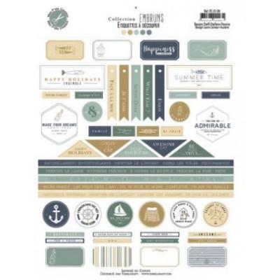 Papiers - Collection Embruns - Mes Ptits Ciseaux