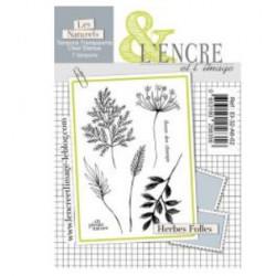 Tampon clear Herbes Folles - L'Encre et l'Image