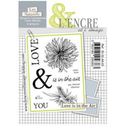 Tampon clear Love is in the Air - L'Encre et l'Image