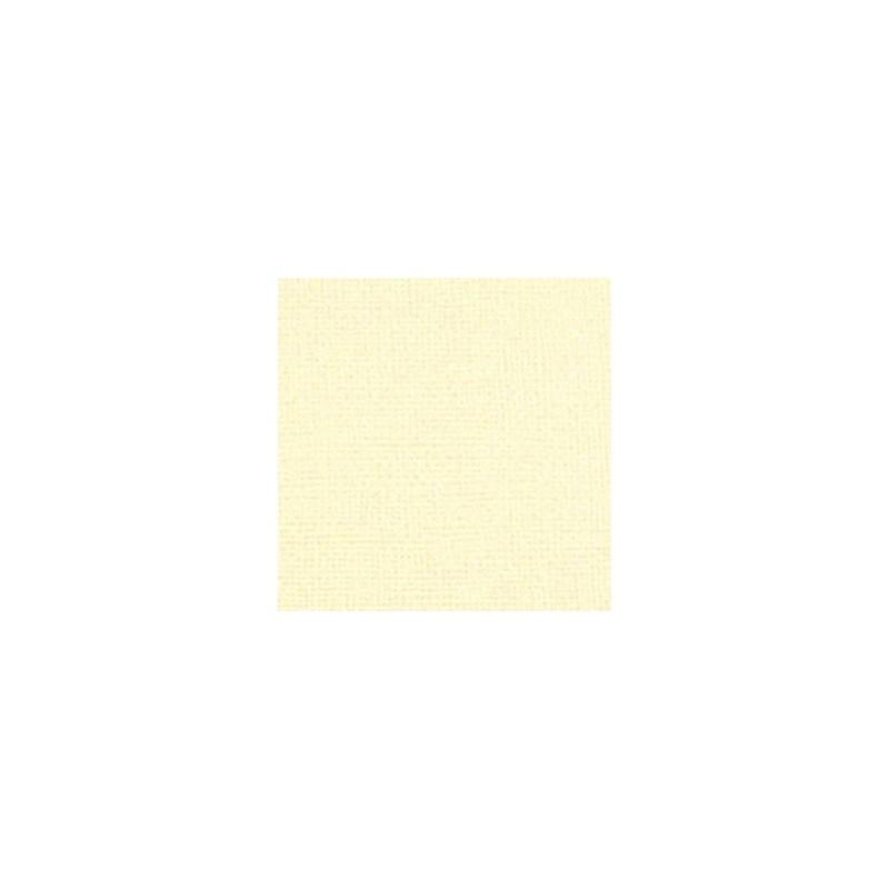 Cardstock texturé canvas - Coloris Crème - Pack de 5 feuilles