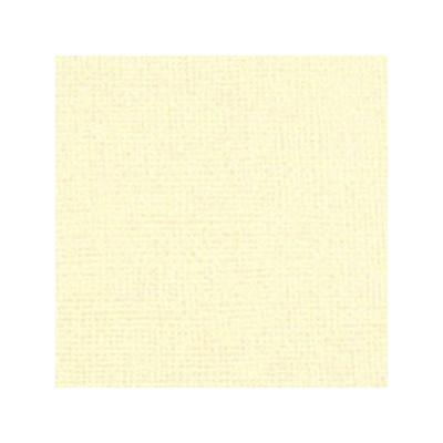 Cardstock texturé canvas - Coloris Crème